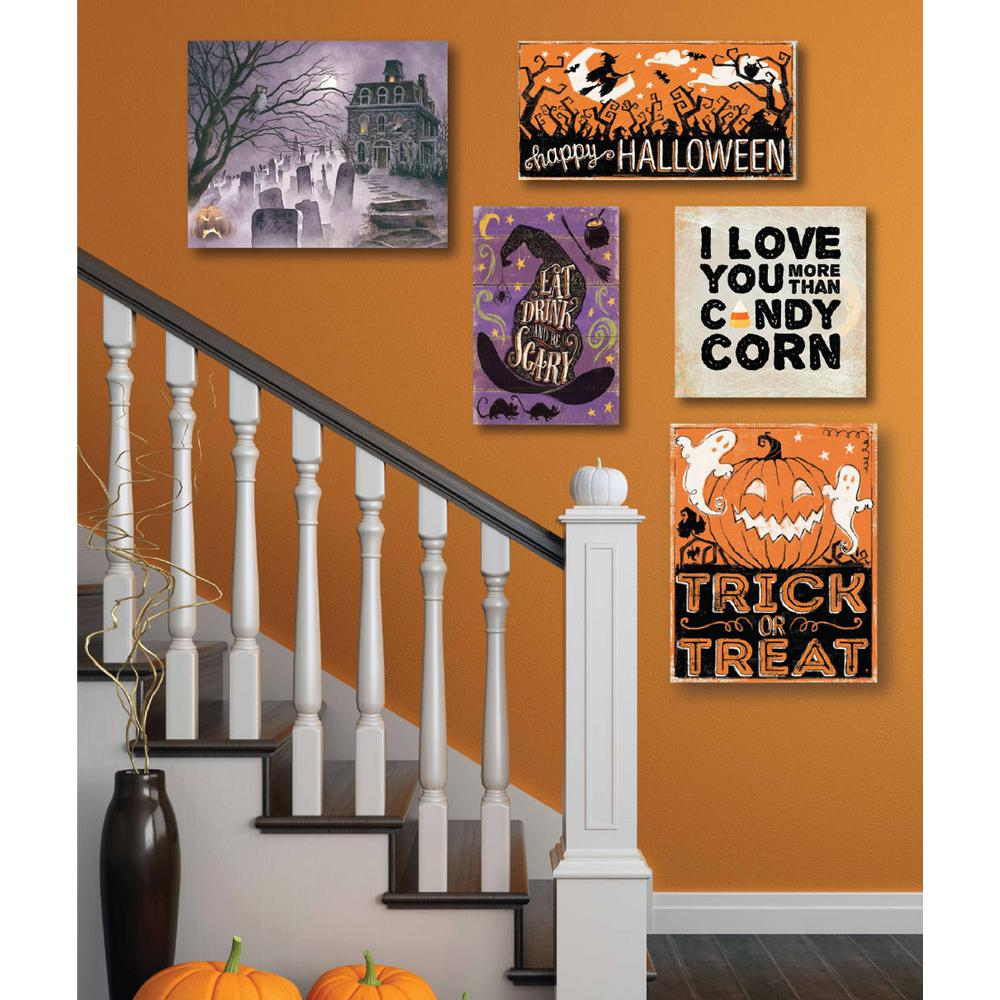 lovely Halloween Wall Art Part - 16: Home Depot