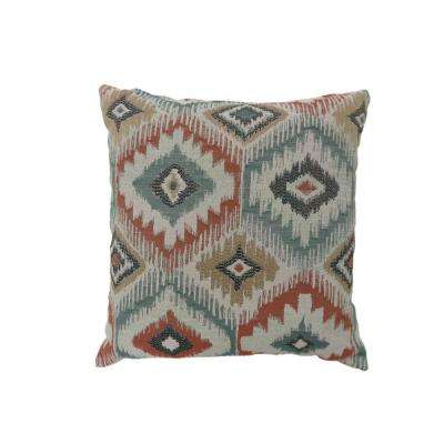 Sierra 22 in. Contemporary Standard Throw Pillow in Multicolor