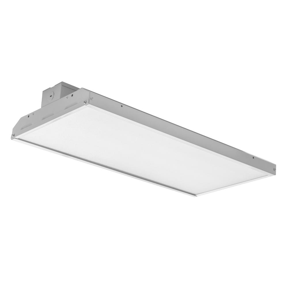 NICOR 600-Watt 28,000 Lumens 4000K Equivalent White Integrated LED High Bay