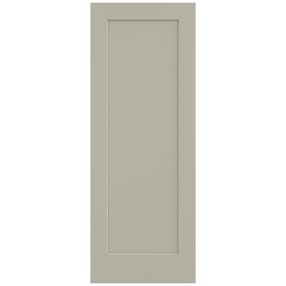 32 in. x 80 in. Madison Desert Sand Painted Smooth Solid