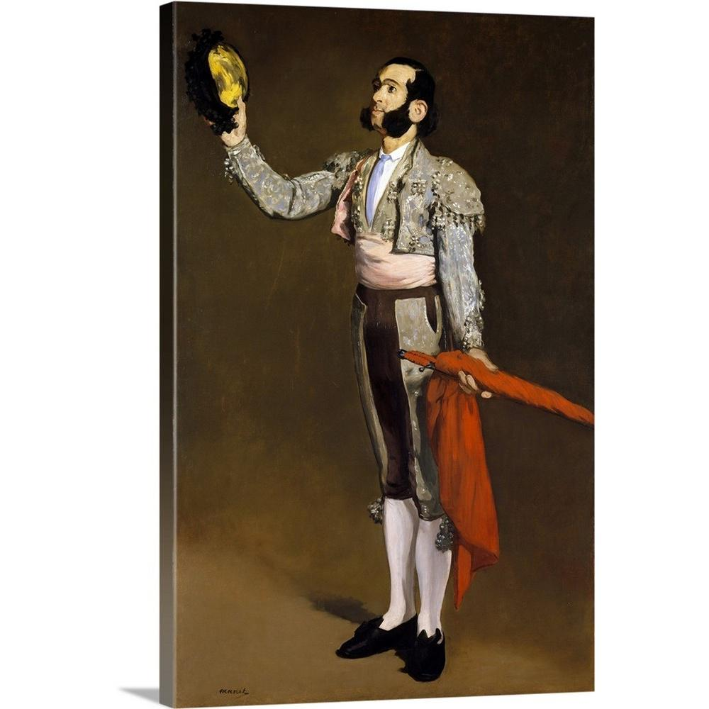 Greatbigcanvas a matador by edouard 1832 1883 manet canvas wall art 2476042 24 20x30 the home depot