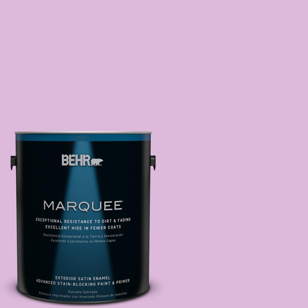 BEHR MARQUEE 1-gal. #670A-3 Posies Satin Enamel Exterior Paint