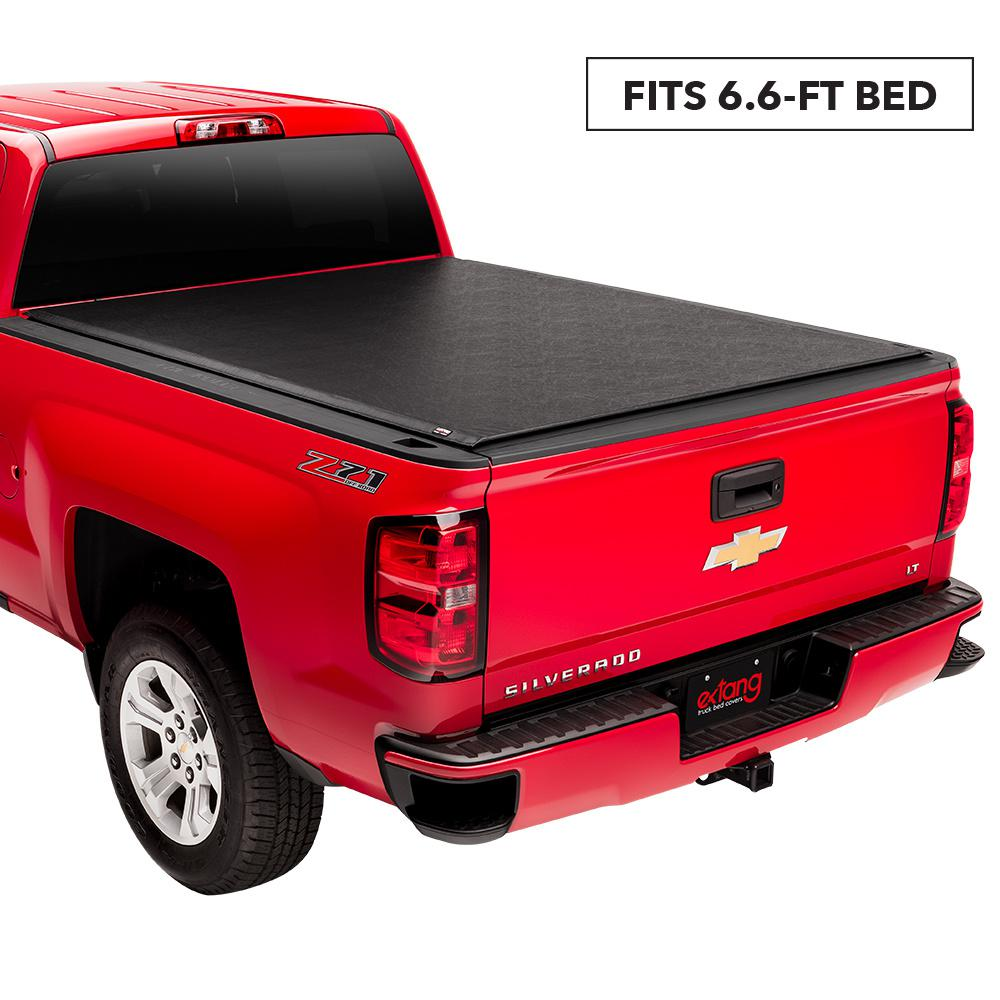 Truxedo Lo Pro 99 06 07 Classic Chevy Silverado Gmc Sierra 1500 Stepside 6 Ft 6 In Bed Tonneau Cover 551101 The Home Depot