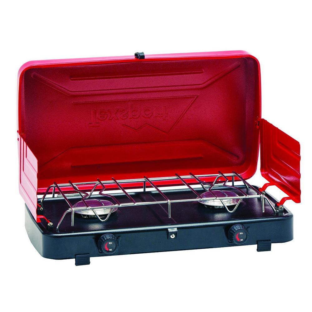 Compact Propane Stove Dual Burner 14214