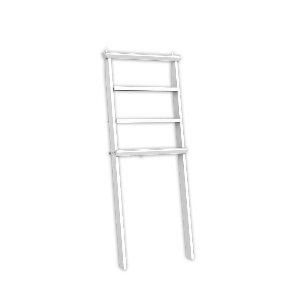 Masterpiece Decor Over The Toilet Storage Ladder 48763 The Home Depot