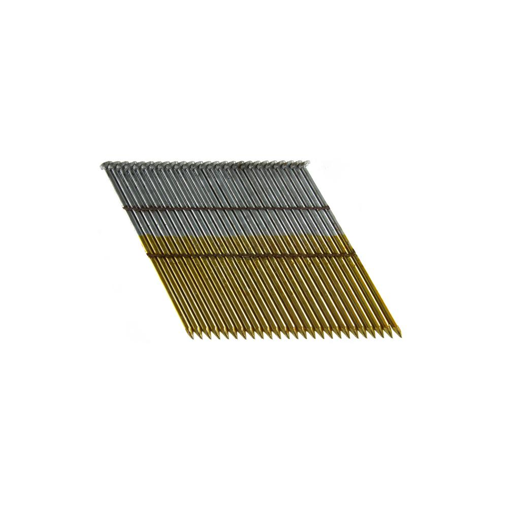 B&C Eagle 3-1/2 in. x 0.131 Wire Weld Collated HD Galvanized Smooth Shank Framing Nails (500 per Box)