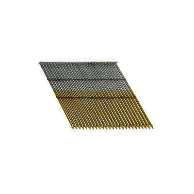 3-1/2 in. x 0.131 Wire Weld Collated HD Galvanized Smooth Shank Framing Nails (500 per Box)