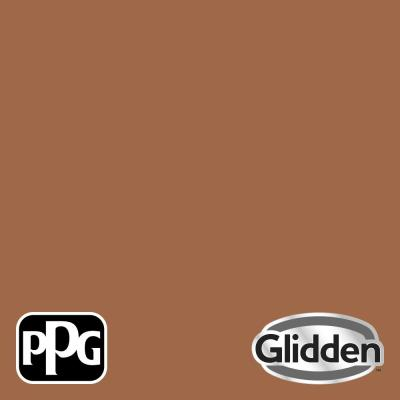 Glidden Premium 8 oz. PPG1069-6 Foxfire Brown Satin Interior Paint Sample