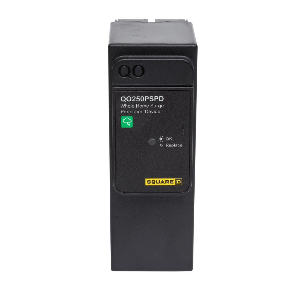 Square D Qo 50 Ka Plug On Neutral Whole House Surge Protective Device