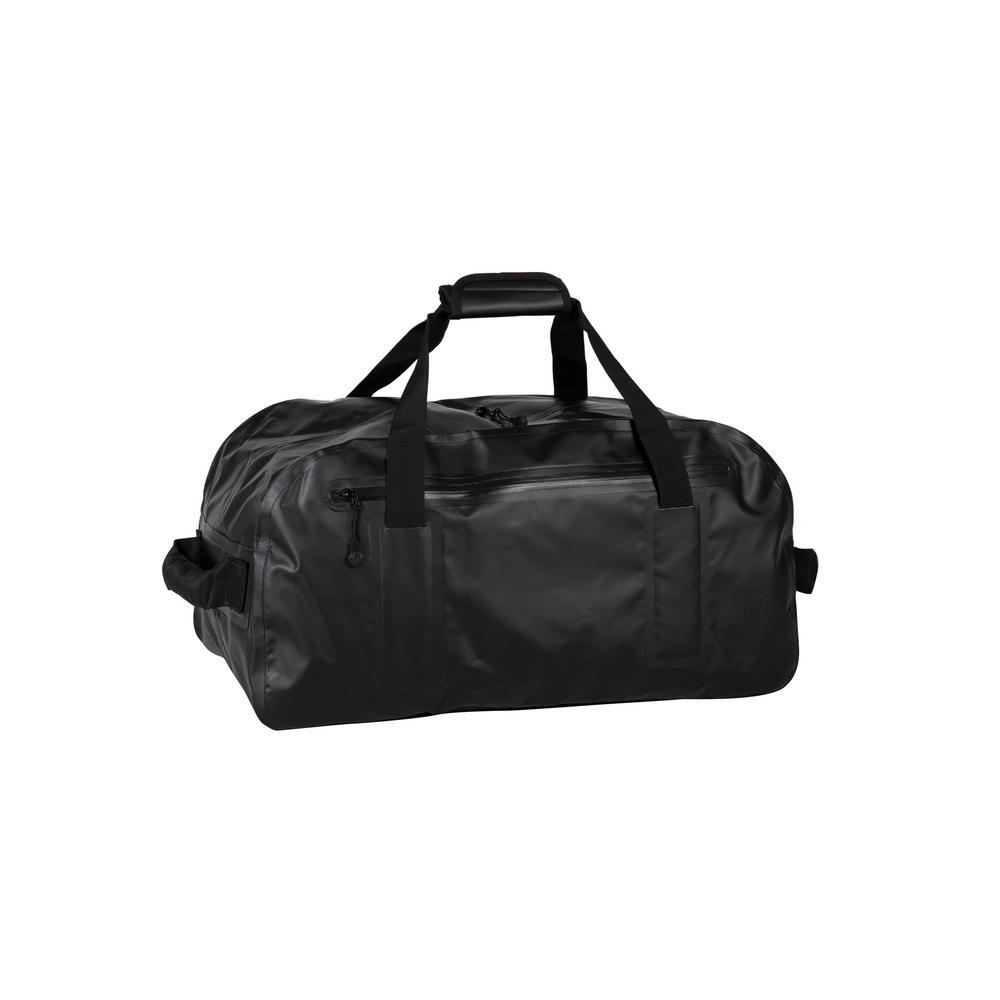Geste 22 in. Black Waterproof Carry-On Duffel