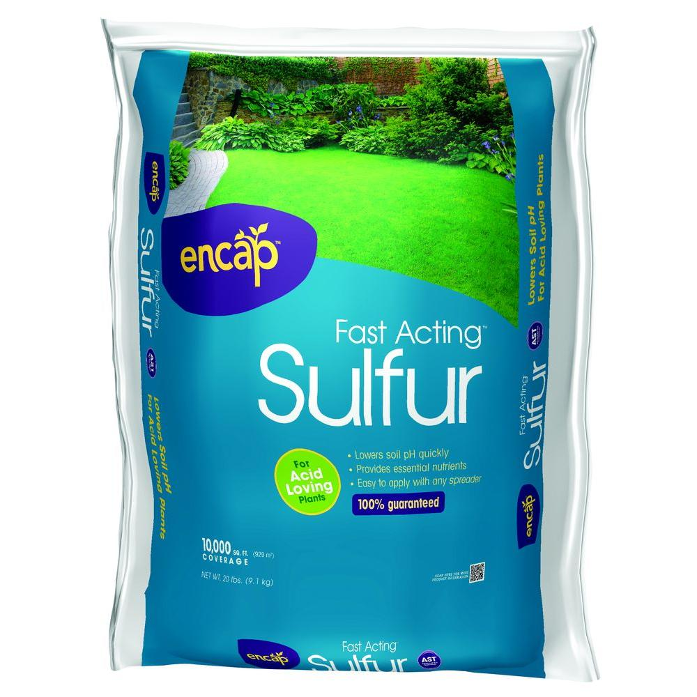 20 lb  Fast Acting Sulfur