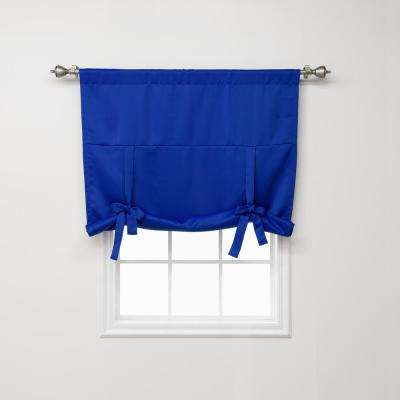 Basic 42 in. W X 63 in. L Drapery Panel in Royal Blue