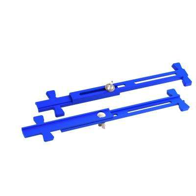 4 in. to 12 in. Heavy Duty Sliding Adjustable Mason Line Stretchers (Pair)
