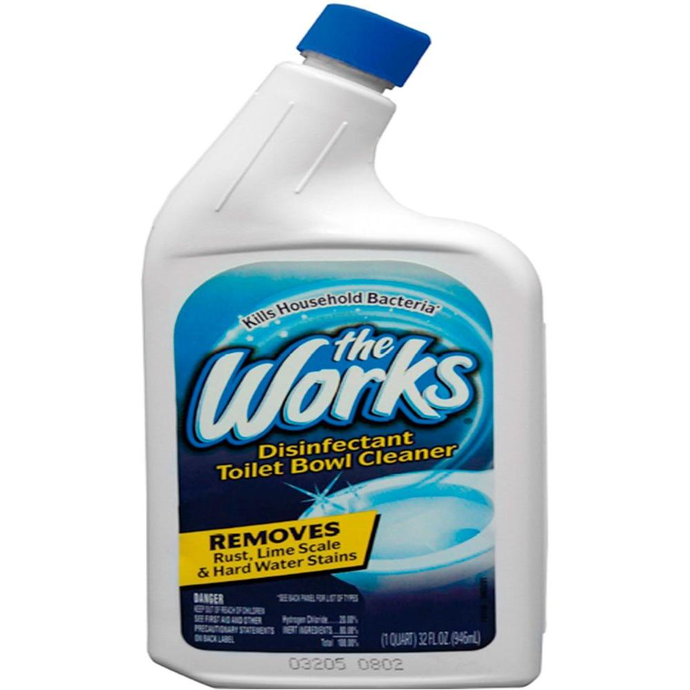 The Works 32 oz. Toilet Bowl Cleaner-03310WK - The Home Depot