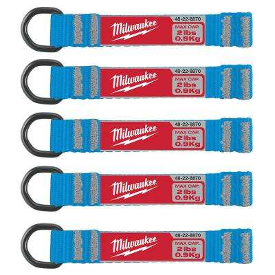 2 lb. D-Ring Lanyard Attachment (5-Piece)