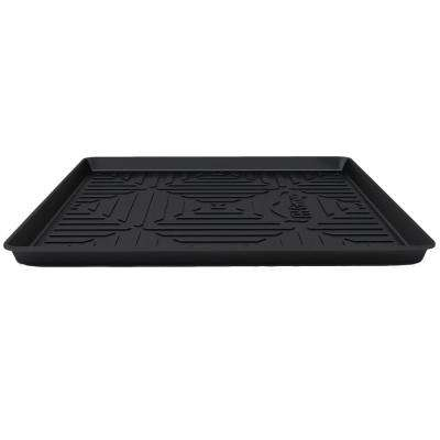 Black Ultimate Weather Proof Rubber Large 40 in. x 32 in. x 2 in. Cargo Mat/Tray