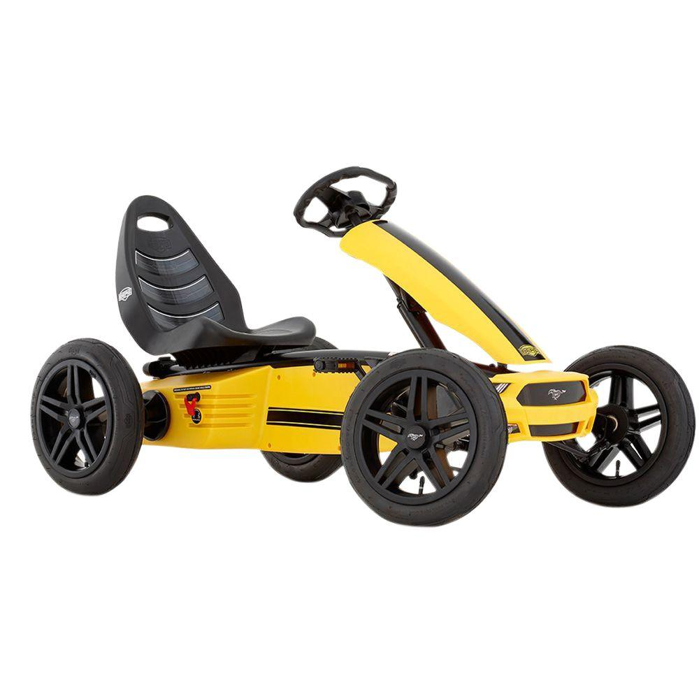 BERG Ford Mustang GT Pedal Cart, Yellows/Golds
