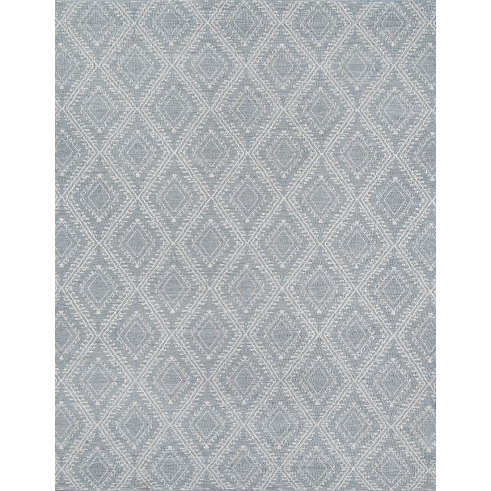 Pleasant Grey 3 ft. 6 in. x 5 ft. 6 in. Indoor/Outdoor Accent Rug