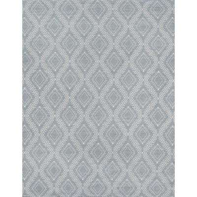 Pleasant Grey 7 ft. 6 in. x 9 ft. 6 in. Indoor/Outdoor Area Rug