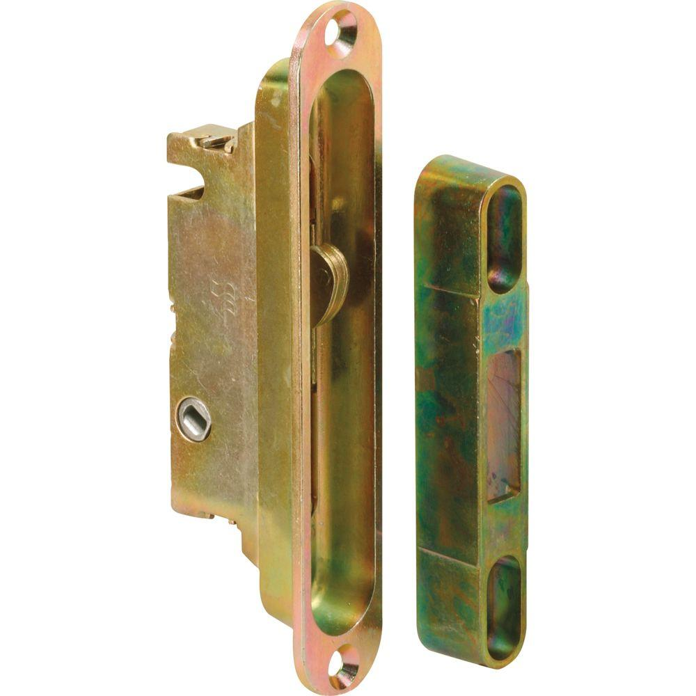 Prime-Line Mortise Latch with 1/2 in. Recess Adaptor Plate