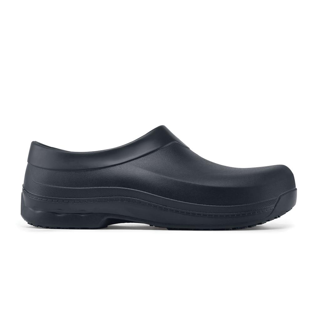 03153fdd220 Shoes For Crews Radium Unisex Size 12 Black EVA Slip-Resistant Slip-On Work  Shoe