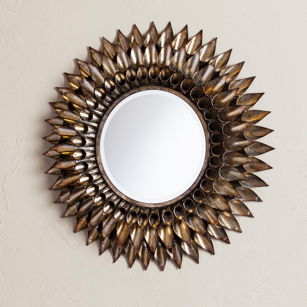 Danile Round Decorative Wall Mirror