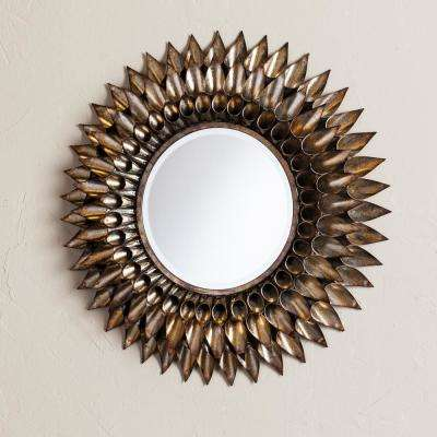 Danile Round Decorative Wall Mirror