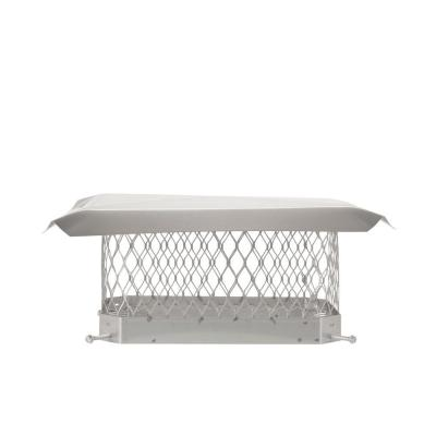 9 in. x 13 in. Mesh Chimney Cap in Stainless Steel