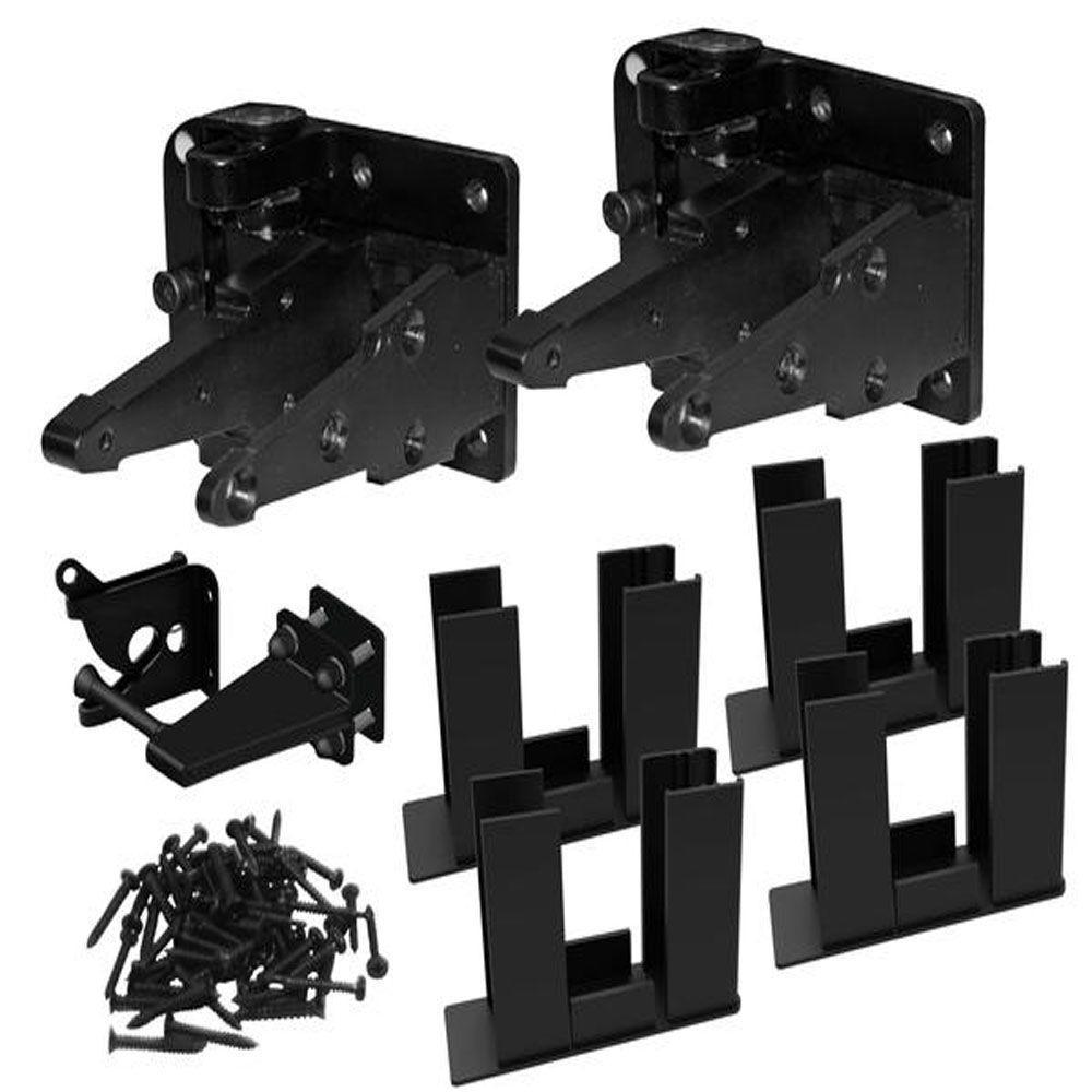 Veranda Vinyl Easy To Assemble Fence Gate Kit 73013121