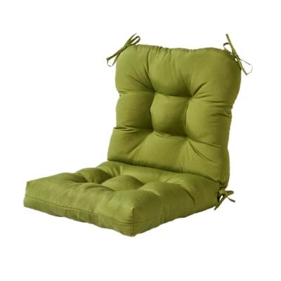 Greendale Home Fashions Solid Summerside Green Outdoor Dining Chair Cushion Oc5815 Huntergreen The Home Depot