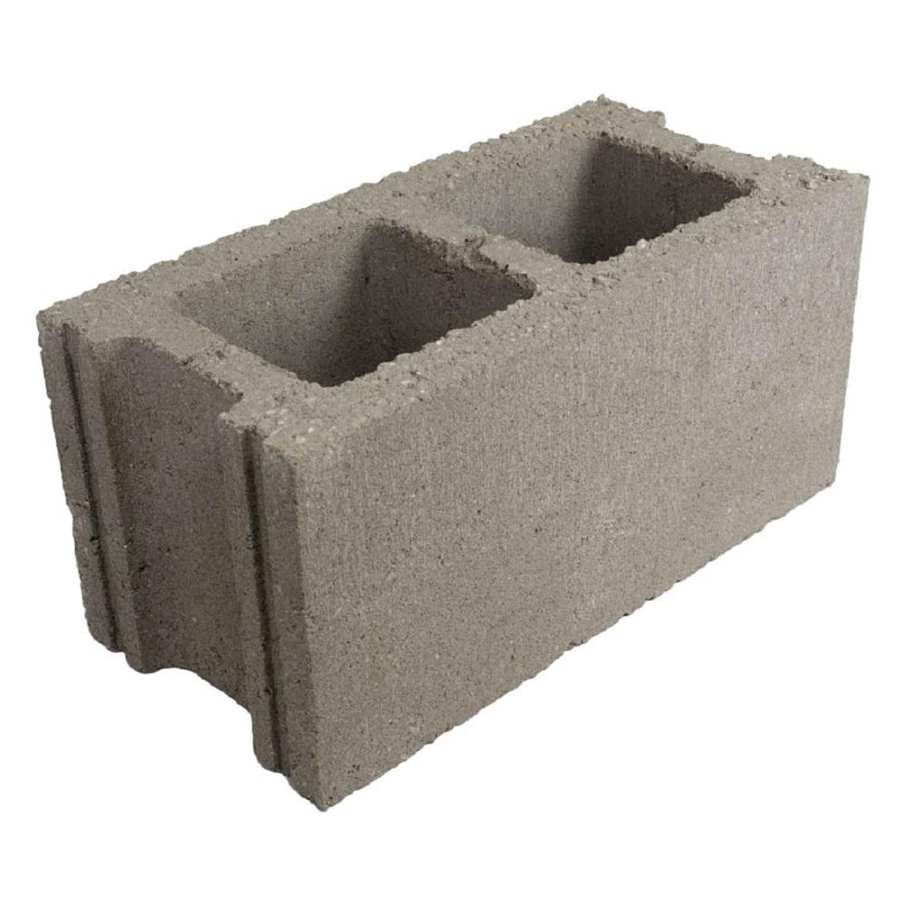 Unbranded 16 In X 8 In X 8 In Normal Weight Concrete Block Regular H0808160000000000 The Home Depot