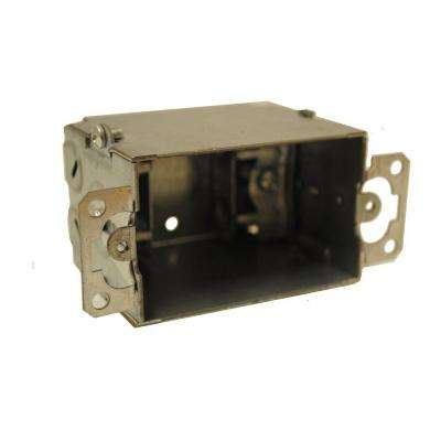 2-3/4 in. Deep Gangable Switch Box - Silver (5-Pack)