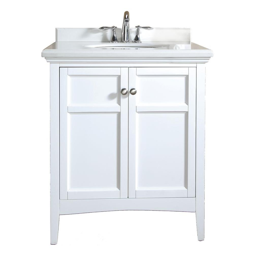ove decors campo 30 in vanity in white lacquer with 89293