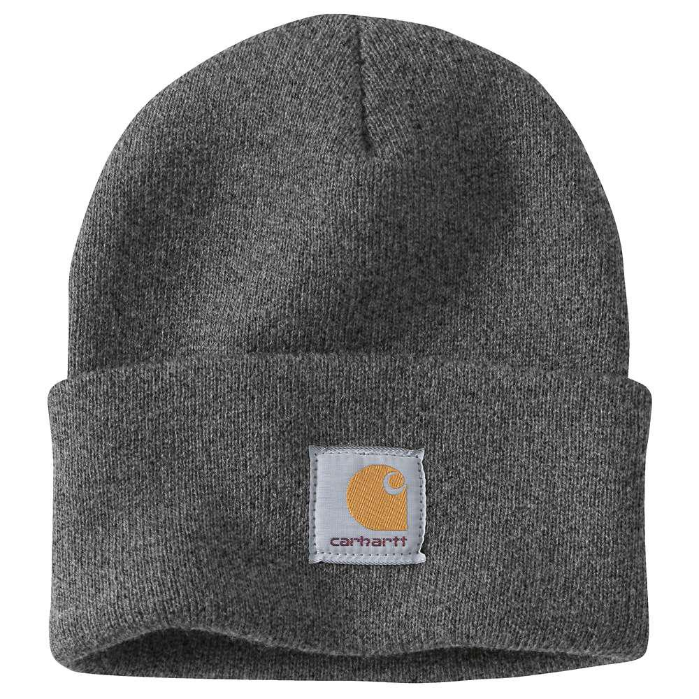 d5108145247 Carhartt Men s OFA Coal Heather Acrylic Hat Headwear-A18-CLH - The ...