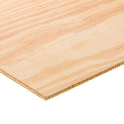Gentil BC Sanded Plywood (Common: 15/32 In. X 2 Ft. X