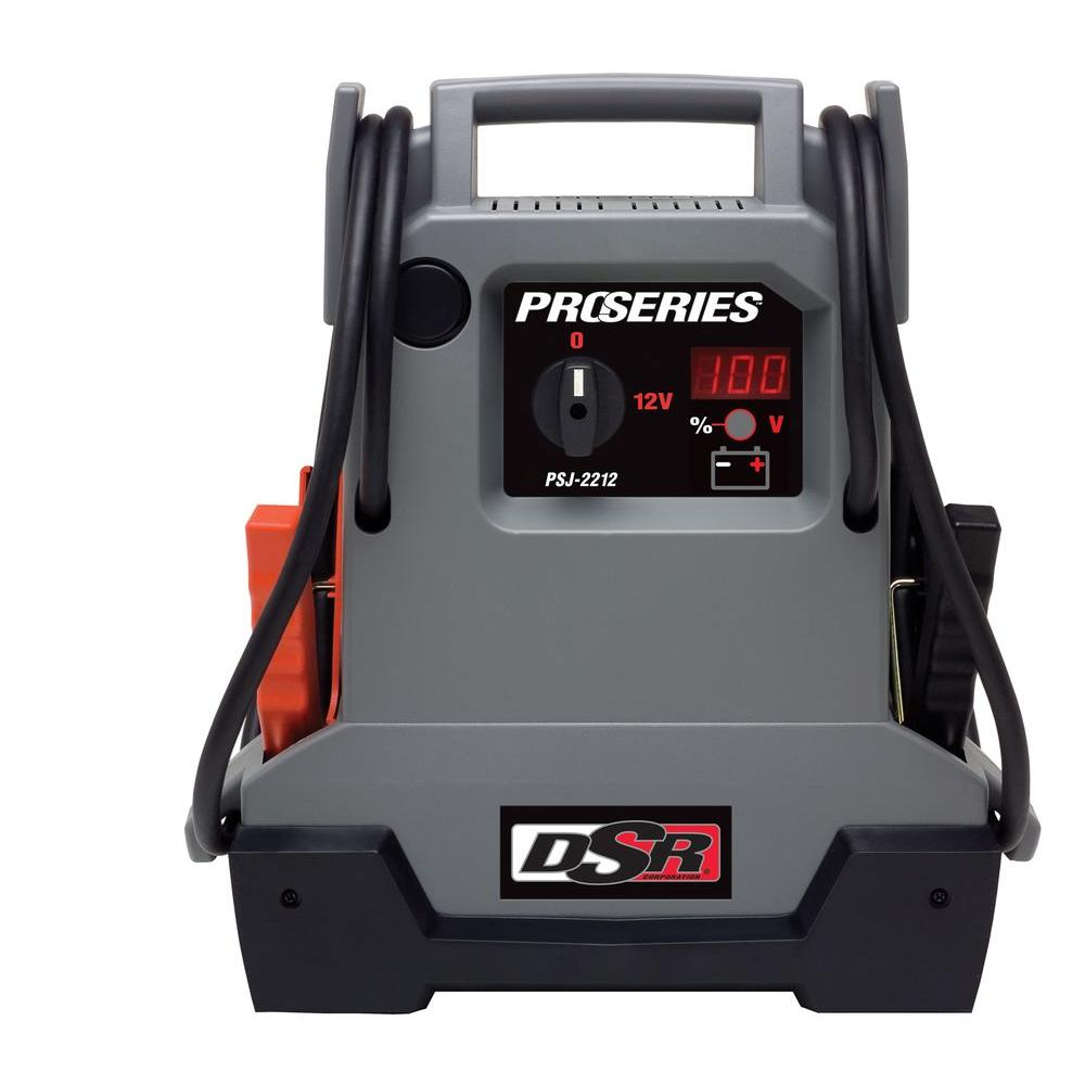 12-Volt Professional Grade Car Battery Jump Pack