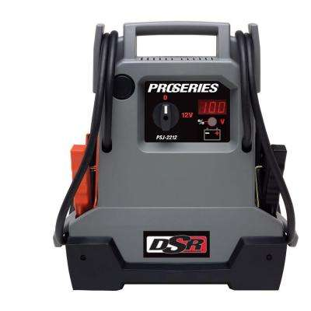 12-Volt Professional Grade Car Battery Jump Pack