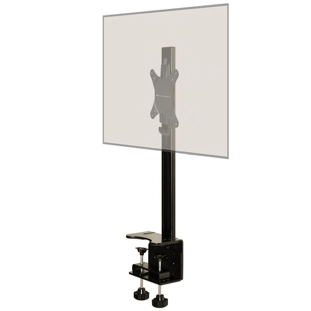 Level Mount Desktop Fixed Mount Fits 10 to 30 in. Monitor...