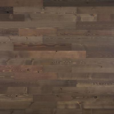 1/8 in. x 3 in. x 12-42 in. Peel and Stick Brown Wooden Decorative Wall Paneling (10 sq. ft./Box)