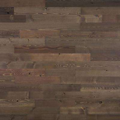 1 8 In X 3 12 42 L And Stick Brown Wooden Decorative Wall Paneling 10 Sq Ft Box