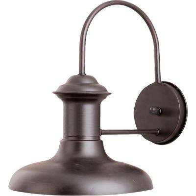 Wharf 1-Light Empire Bronze Outdoor Wall Mount
