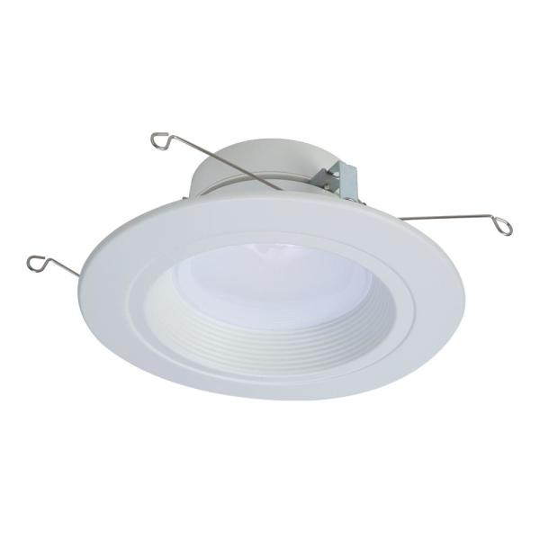 Halo Rl 5 In 6 In 2700k 5000k Tunable Smart White Integrated Led Recessed Ceiling Light Trim Selectable Lumen By Halo Home Rl56129ble40awh The Home Depot