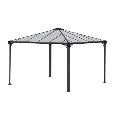 Palermo 3600 12 ft. x 12 ft. Aluminum Frame and Hard Top Gazebo