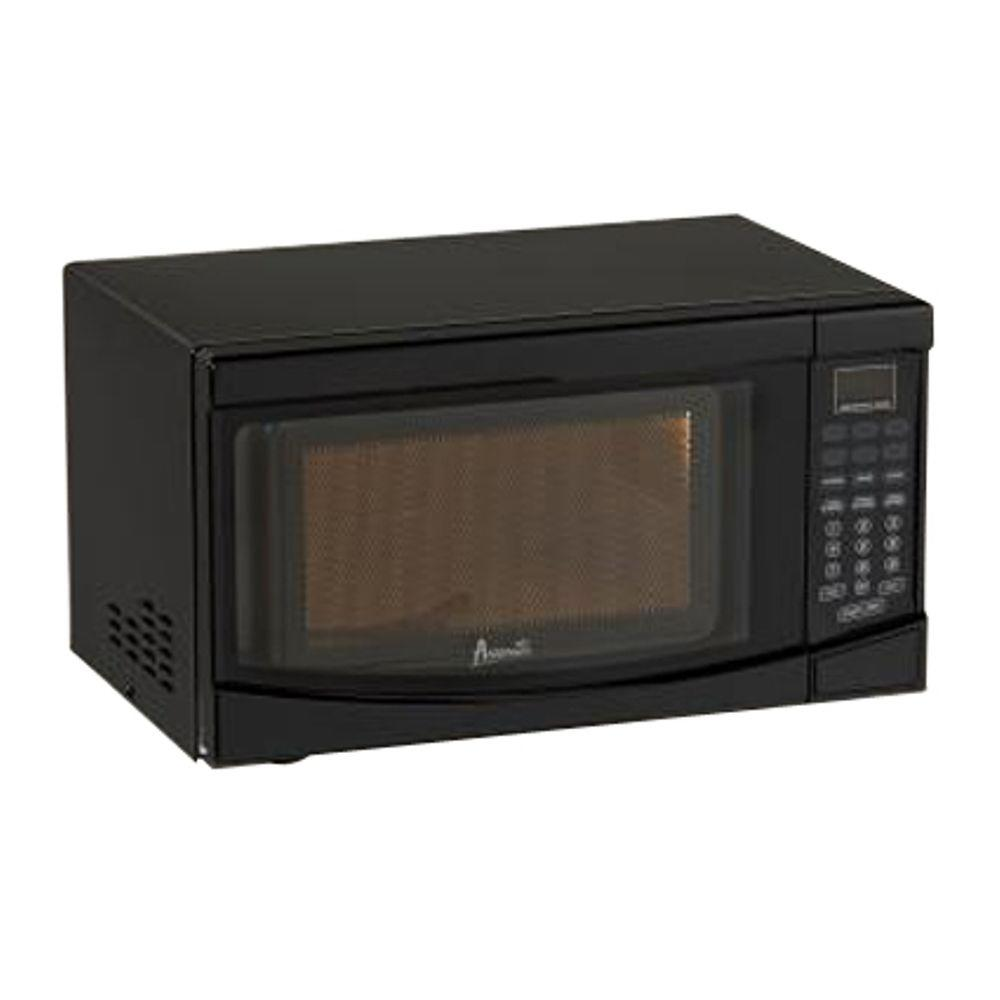 Avanti 18 0.7 cu.ft. Countertop Microwave MO7191TW Color: Black photo