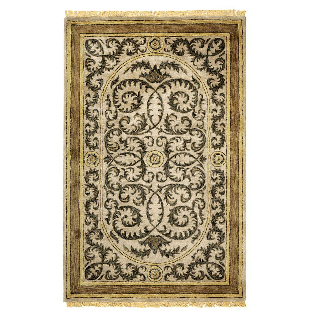 Home Decorators Collection Colette Taupe 12 ft. x 15 ft. Area Rug