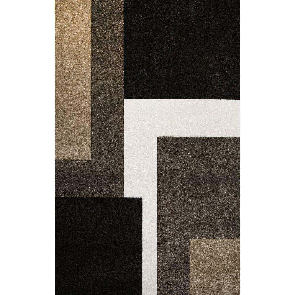 This Review Is From Bazaar Zag Dark Brown 7 Ft 10 In X 1 Indoor Area Rug