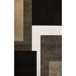 Home Dynamix Bazaar Zag Dark Brown 7 Ft. 10 In. X 10 Ft. 1 In. Indoor Area  Rug 1 2780 514   The Home Depot