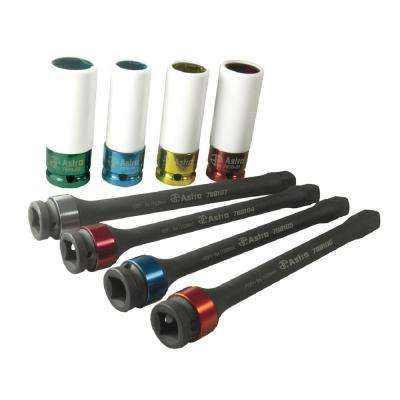 Torque Limiting Ext and Protective Socket Set