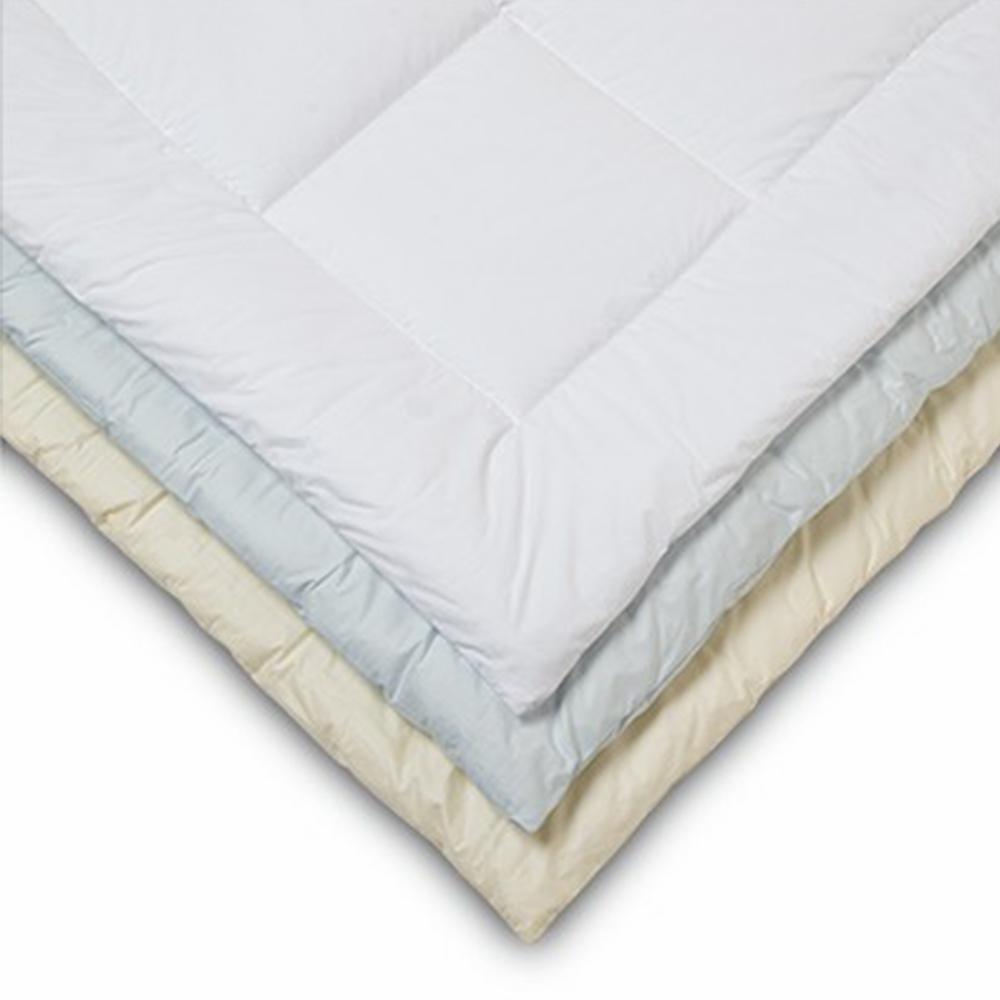 Allergen Ivory Twin Barrier Comforter