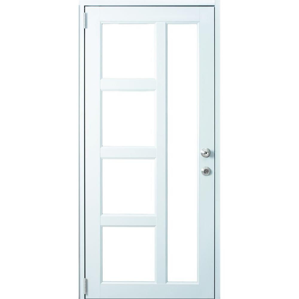 Air master windows and doors 38 in x 80 in caribe 2 for Home depot windows and doors